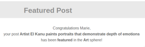 Featured Post in the Art Category on Niume