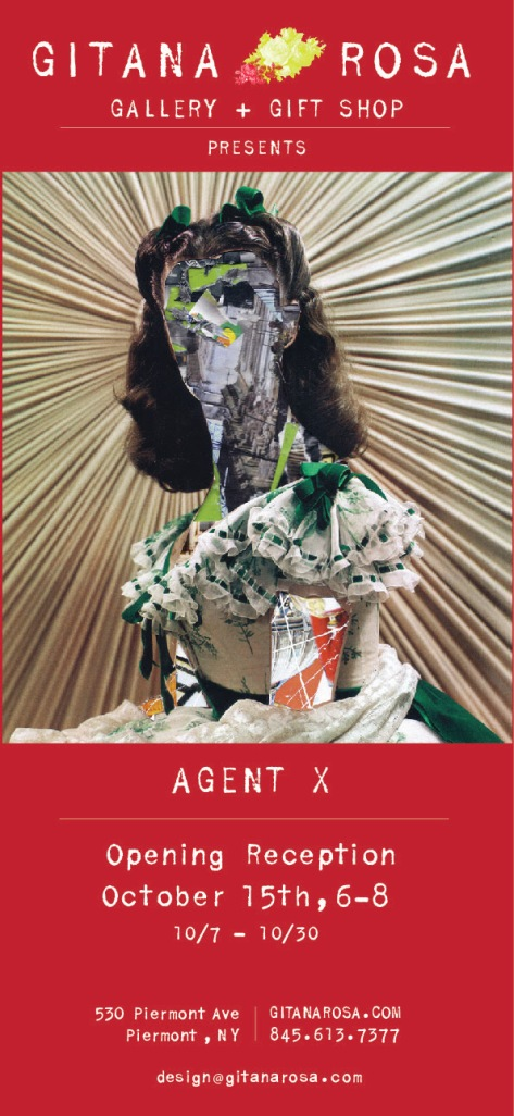 Artist Agent X at Gitana Rosa Gallery Opening Reception Oct 15th