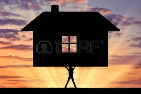 silhouette-of-strong-feminist-lifting-the-house-the-concept-of-feminism