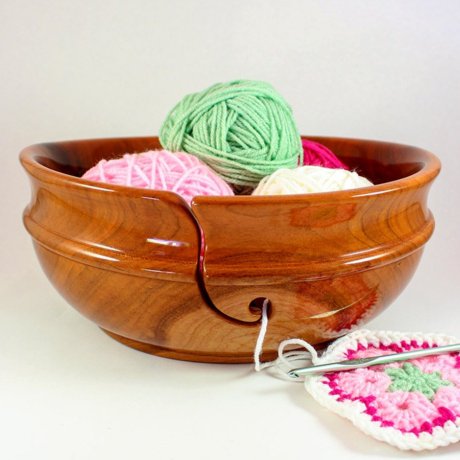 Jumbo Yarn Bowls Are The Perfect Accent Piece For Yarn Loving Clients!