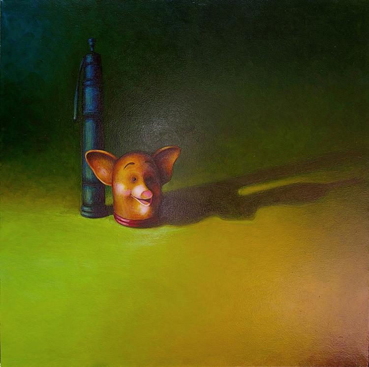 Revitalization of Rhopography in the Oil Paintings of PJ Mills
