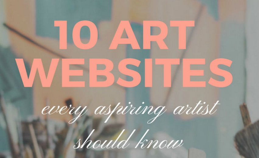 We Topped the List of 10 Art Websites Every Artist Should Know