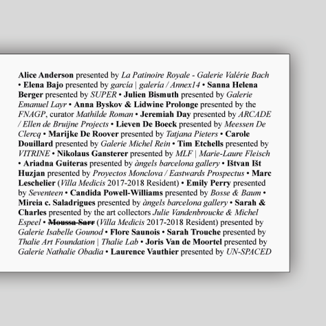 9. A-Performance-Affair-Announcement-list-selected-exhibitors