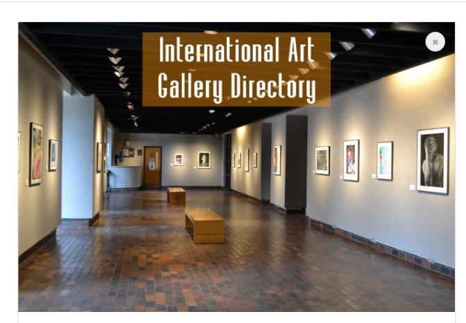 Art Galleries   Artist Marketing Resources