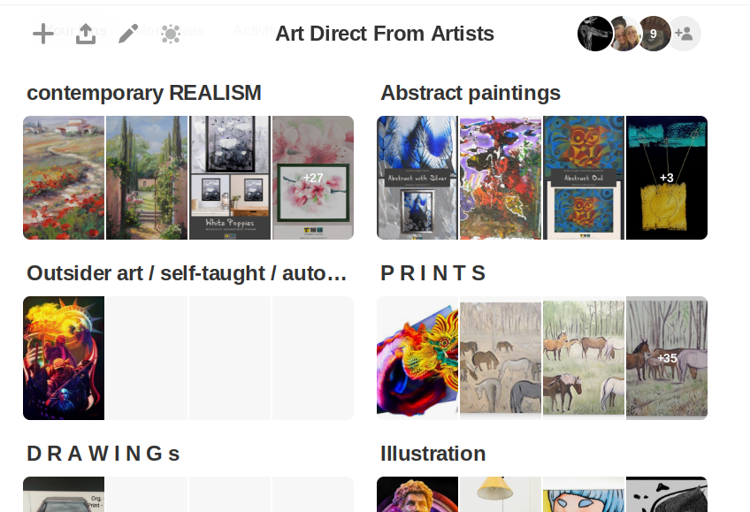 Give One-of-a-kind Gifts this season– each uniquely created by an artist!